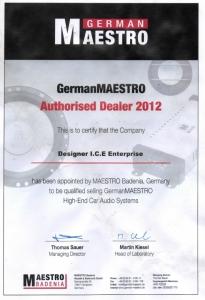 German_Maestro_DESIGNER_ICE_Authorised_Dealer