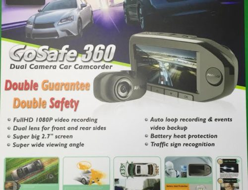 Papago 360 Duel Camera Car Driving Recorder
