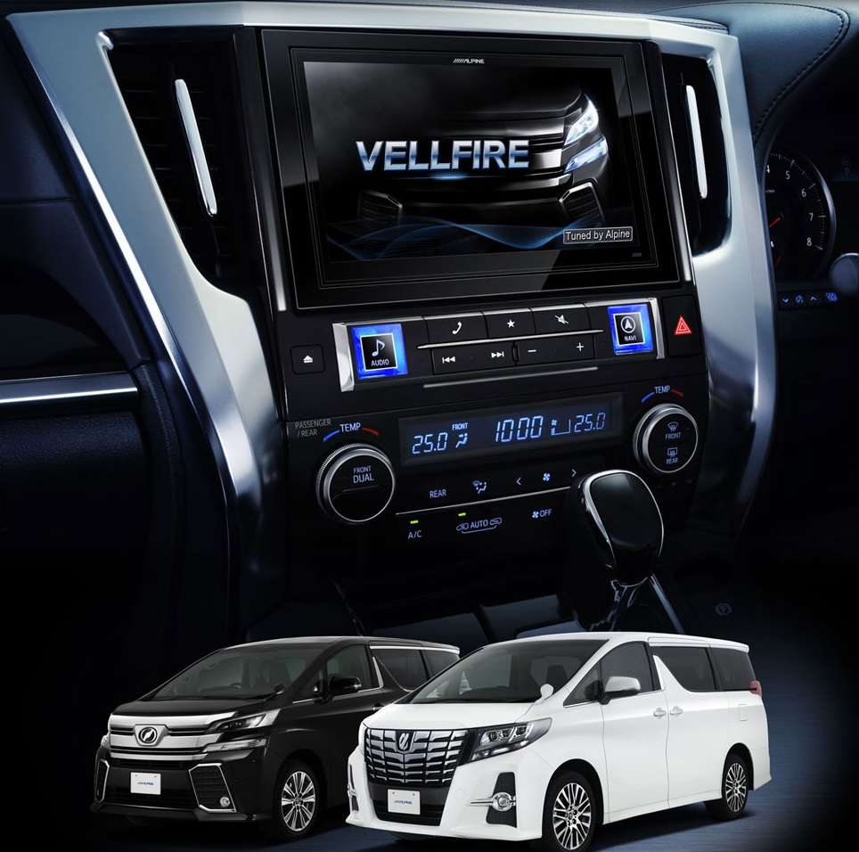 Alpine Asia and the 2015 Toyota Alphard, Vellfire are a winning team