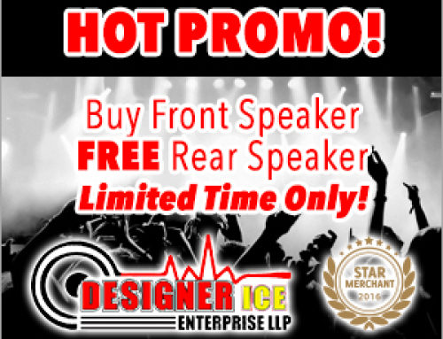 Free Rear Speaker Promotion 2016