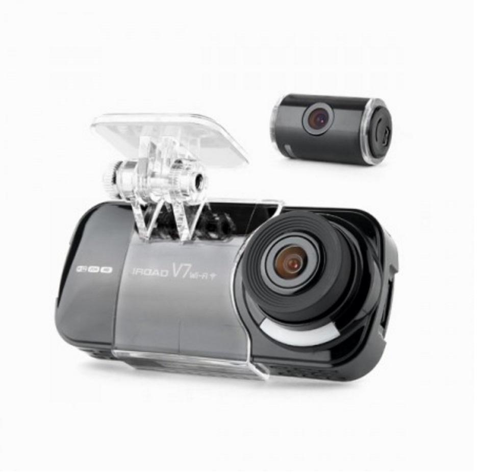 IROAD V7 Duel Camera Car Driving Recorder